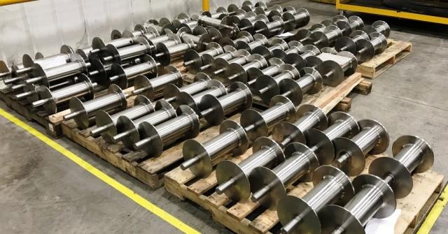 Mass Produced Machined Shafts
