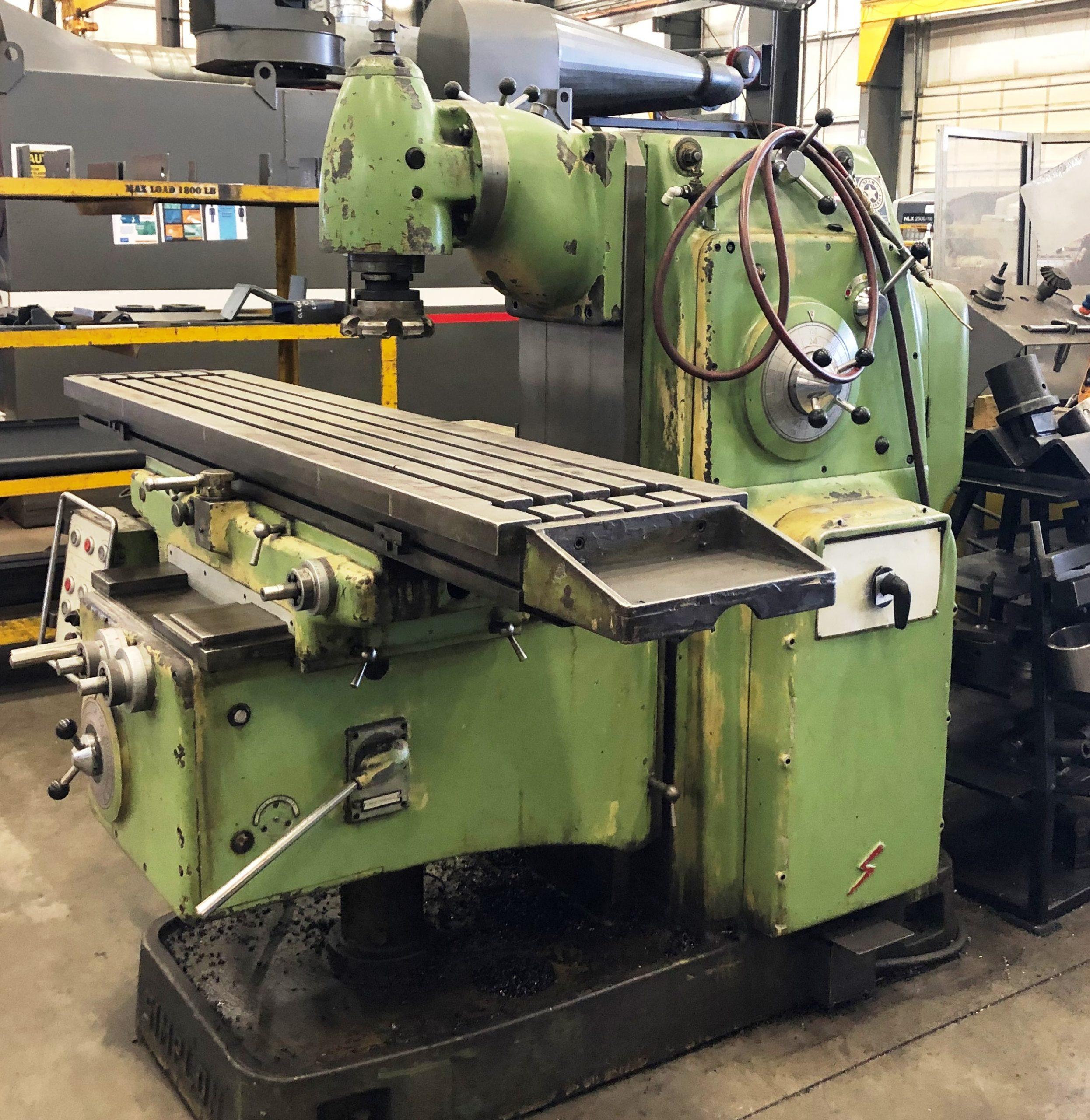 Simplon Manual Milling Machine